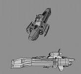 PA spaceship