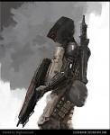 Light infantry sketch