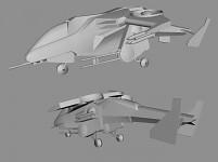Sparrowhawk landing gear alternative