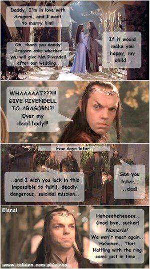 Elrond gets greedy