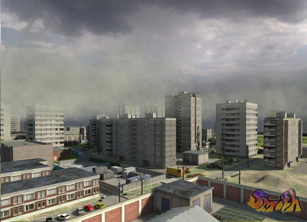 "First city version for Half-Life 2 mod ""City_SPb"""