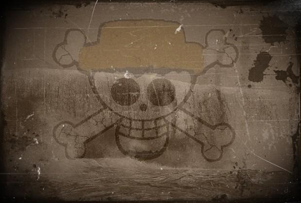 Black Wave Pirates Flagge