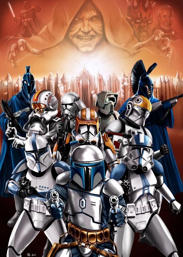 Epic Star Wars art is Epic