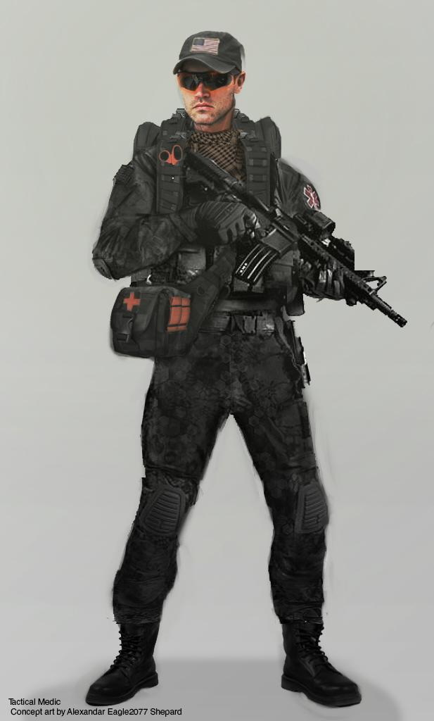 SOLDIER white