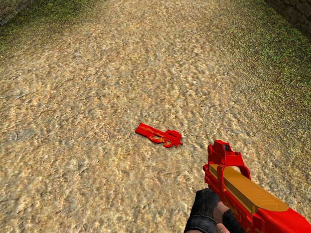 P90 Red Dragon