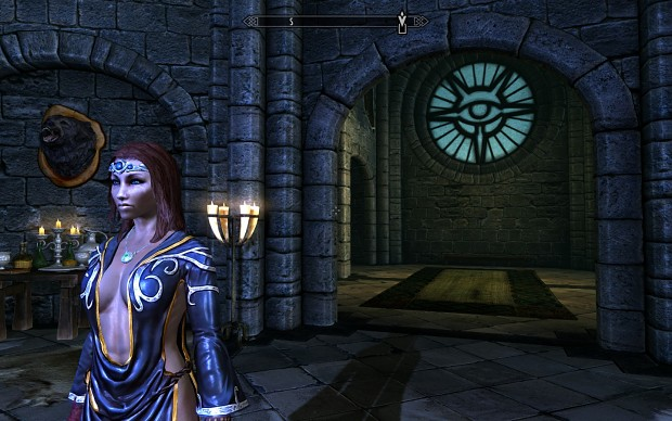 My Archmage in Skyrim.