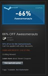 Anyone want this steam coupon?