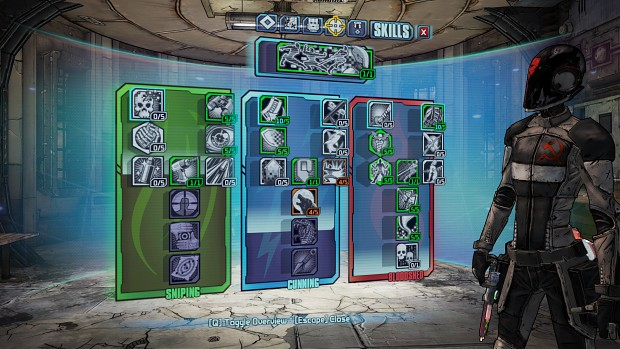 New borderlands 2 stats