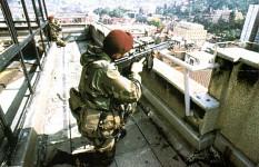 Italian Sniper at Sarajevo