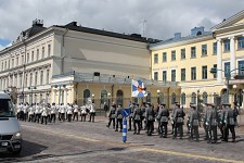Guards parade