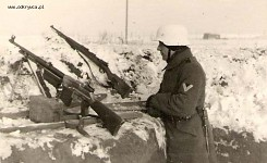 Germans using Polish Browning wz. 28