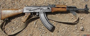 """""""AK-47 - best rifle ever created!"""" phrase"""