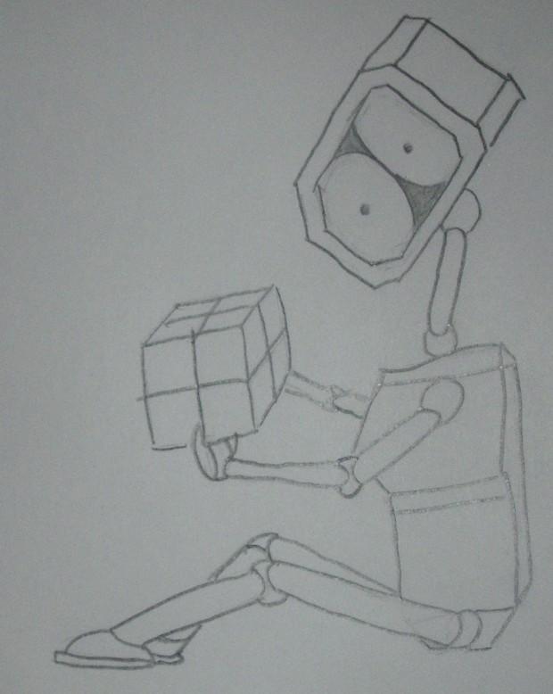 Robot Curiousity