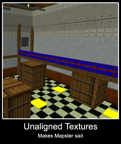 Unaligned Textures
