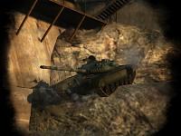 Tank On A Ledge