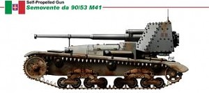 Semovente M 41M da 9053 self propelled gun