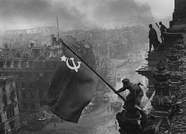 Soviet Flag Over Berlin