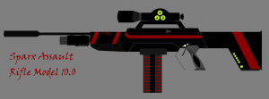 Sparx Assault Rifle Model 10.0
