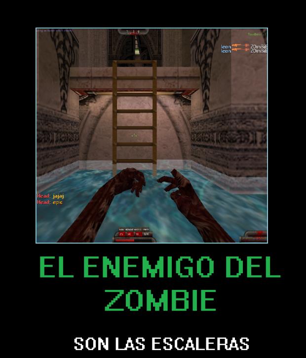 El enemigo mortal de un zombie