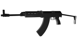 Vz. 58 V High-Poly model