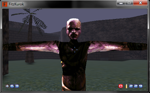 Rage - Mutant Model with temporary skin