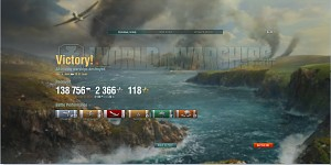 Having fun with _W_ in WoWs.