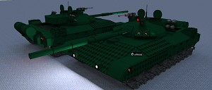 A pair of tanks...