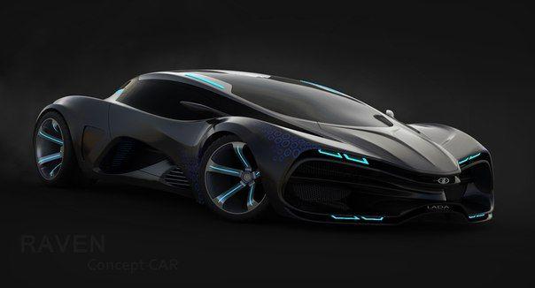 The Lada Raven Concept.