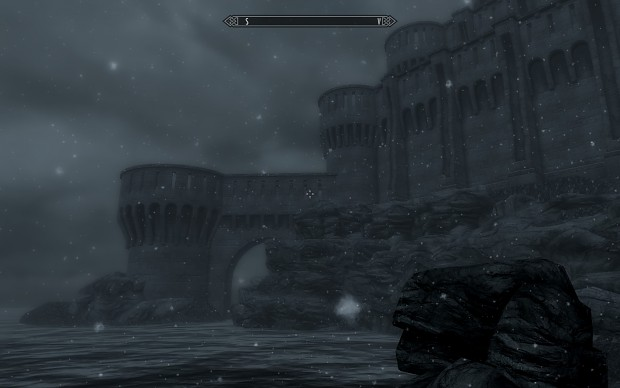 New Skyrim Castle in-game
