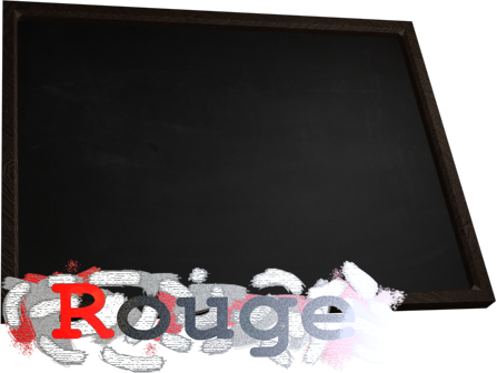 Blackboard Rouge