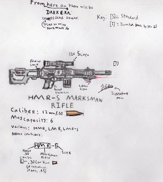 DARK ERA Sniper Concept