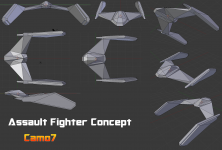 Phoenix style Fighter Craft 01
