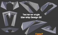 Tecteron style Warship Design 02