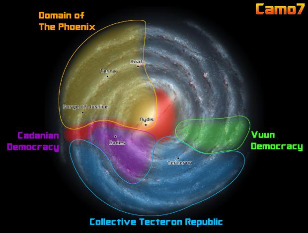Phoenix at War Galactic Map