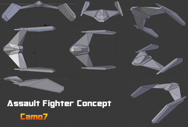Phoenix style Fighter Craft 01
