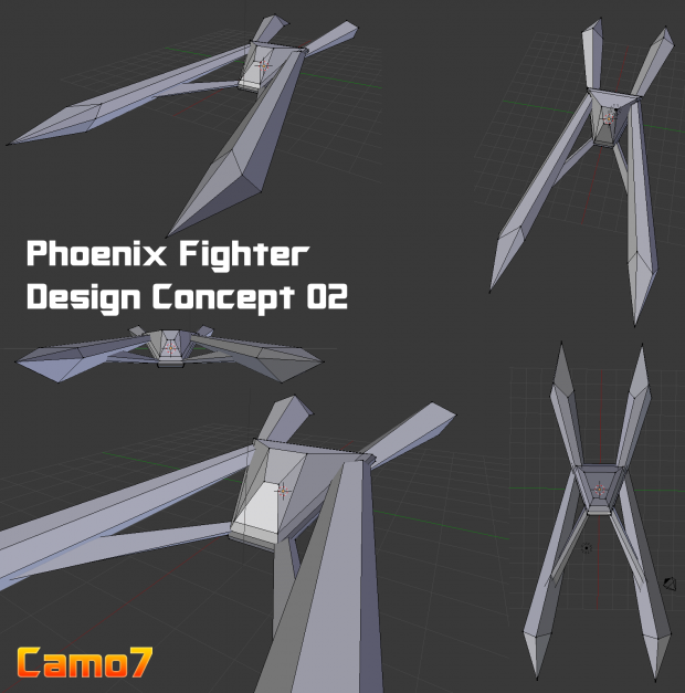 Phoenix style Fighter Craft 02