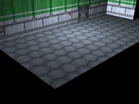 New Hex Tile Floor