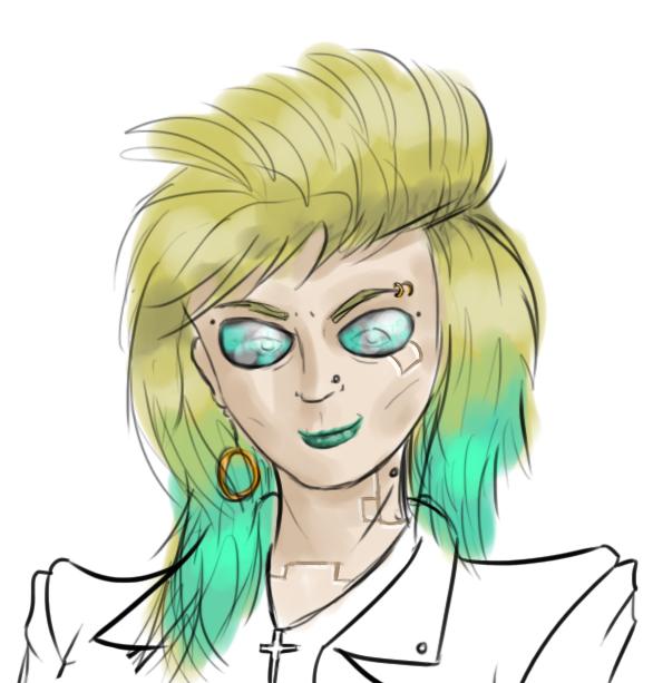 WIP Minerva Sketch
