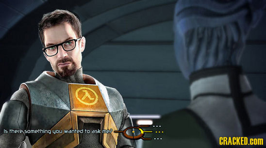 Gordon Freeman in Mass Effect . . .