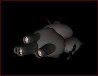 Vulkoran Warlord Frigate V1 (Wip)