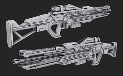 Orion: Prelude - Weapon models