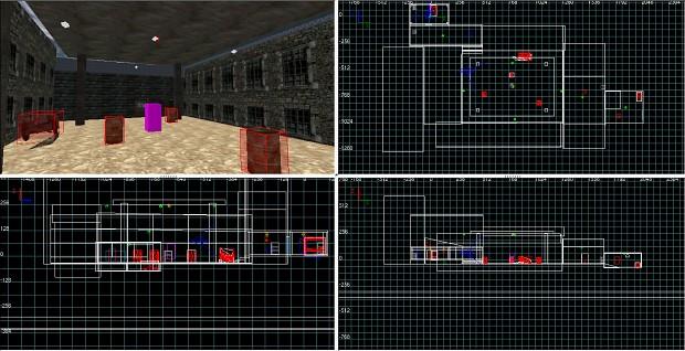 Wolfenstein Enemy Territory map- Desert base