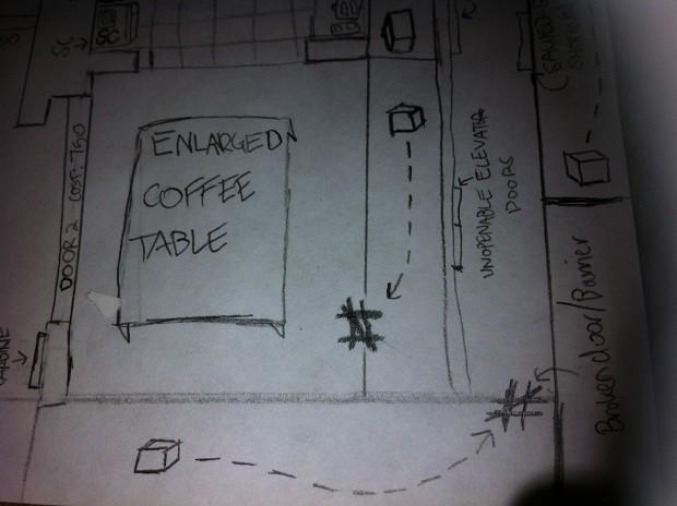 Die Wohnung map