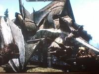 funny skyrim dragon glitch