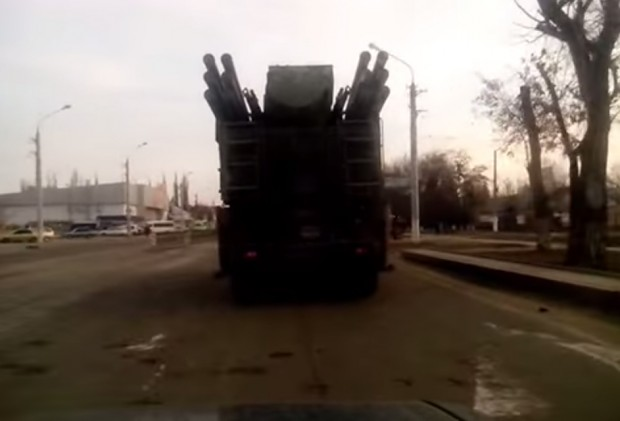 Indigenous miner-produced copy of the Pantsir S1