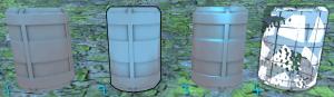 Unity shader demo v3