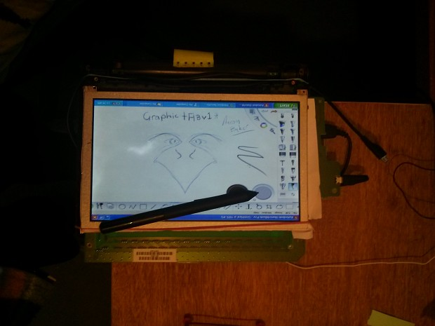 Home made cintiq