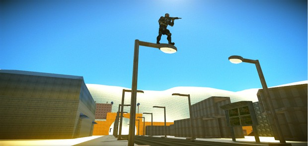 Desert Combat-Crysis2 map completely out of solids