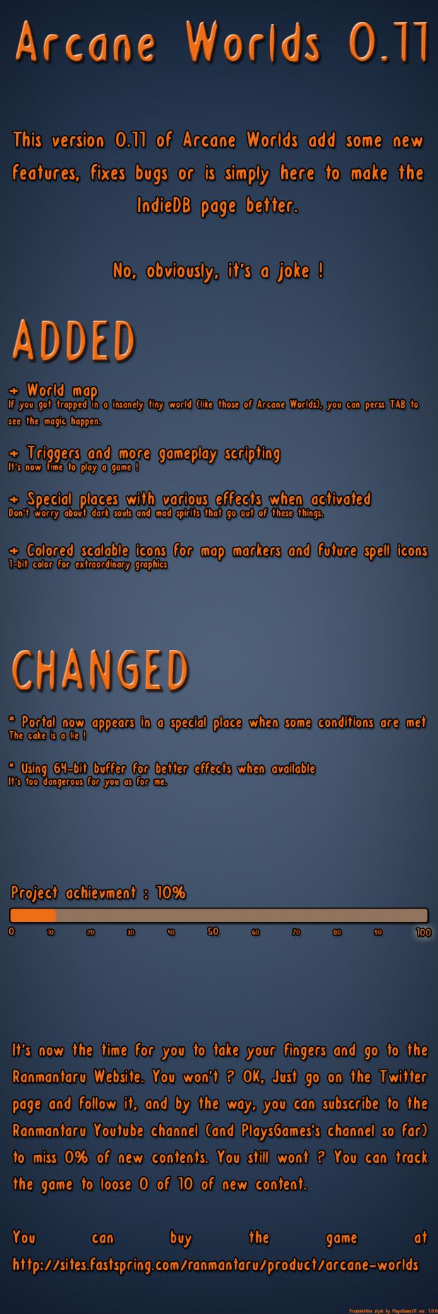 Concept 01 - Changelog