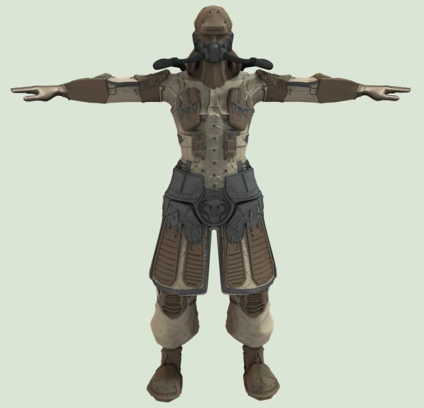 Harkonnen infantry